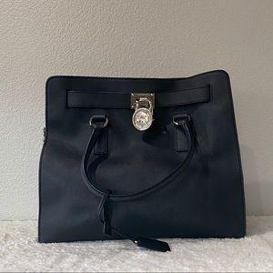 MICHAEL KORS Black Large Satchel Handbag